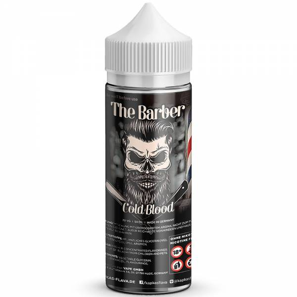 The Barber Liquid - Cold Blood 50 ml / 0 mg