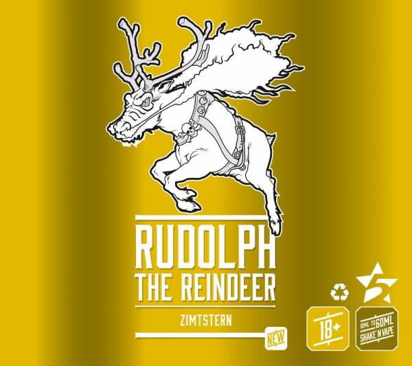 Rudolph the Reindeer Aroma - 5 Stars X-Mas Edition 10 ml
