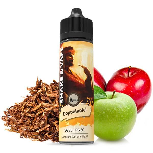 Surmount Doppelapfel Premium E-Liquid 40 ml