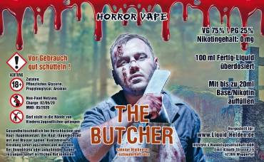 Horror Vape The Butcher E-Liquid 100 ml/0 mg