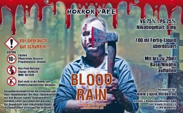 Horror Vape Blood Rain E-Liquid 100 ml/0 mg