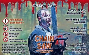 Horror Vape Chain Saw E-Liquid 100 ml/0 mg